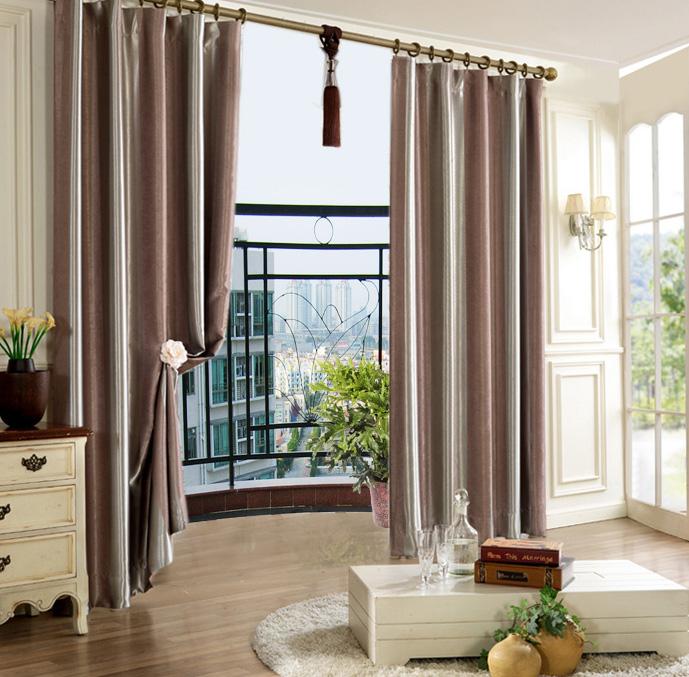 时尚loft卧室欧式窗帘装修效果图
