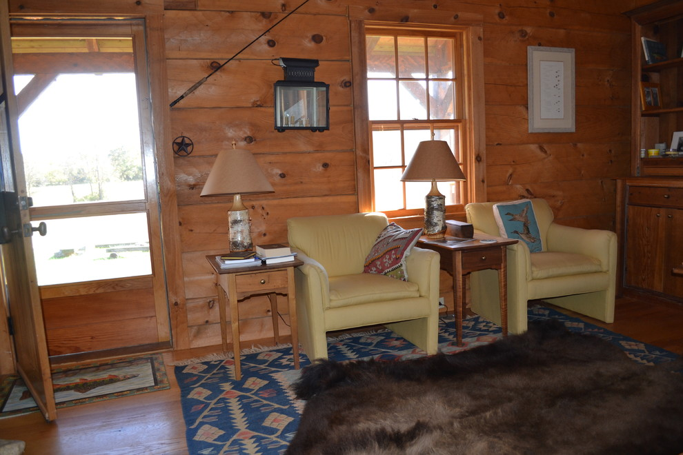 新古典别墅木房子会客厅装修效果图