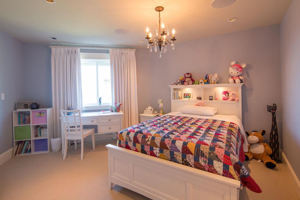 欧式别墅简约轻奢儿童房装修效果图