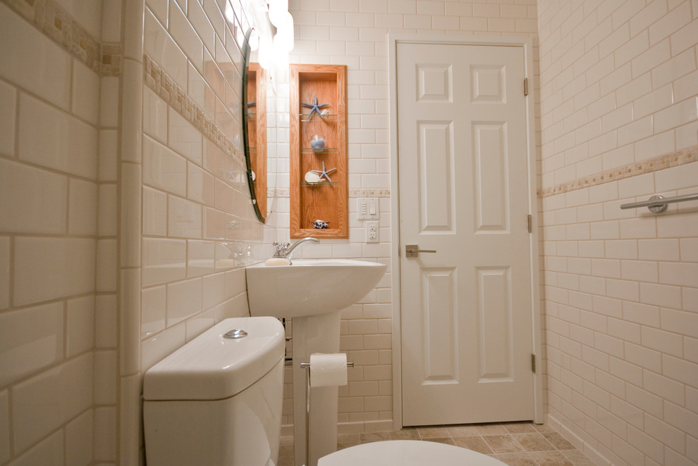 中式别墅装修大气洗手间效果图图片