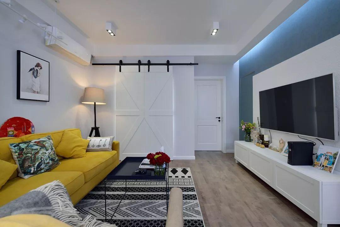 62㎡北欧风格两居室