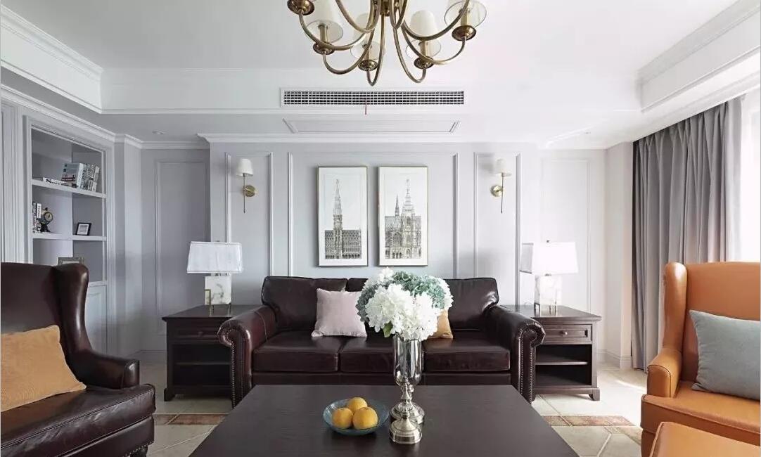 150㎡美式轻奢风格四居室
