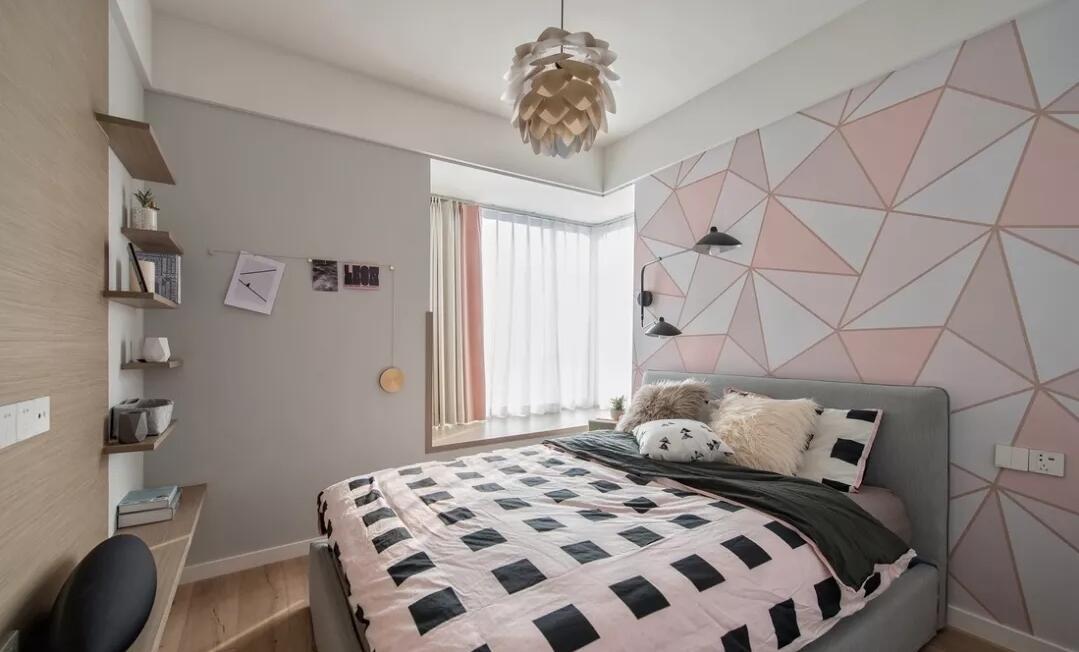 80㎡北欧风格两居室