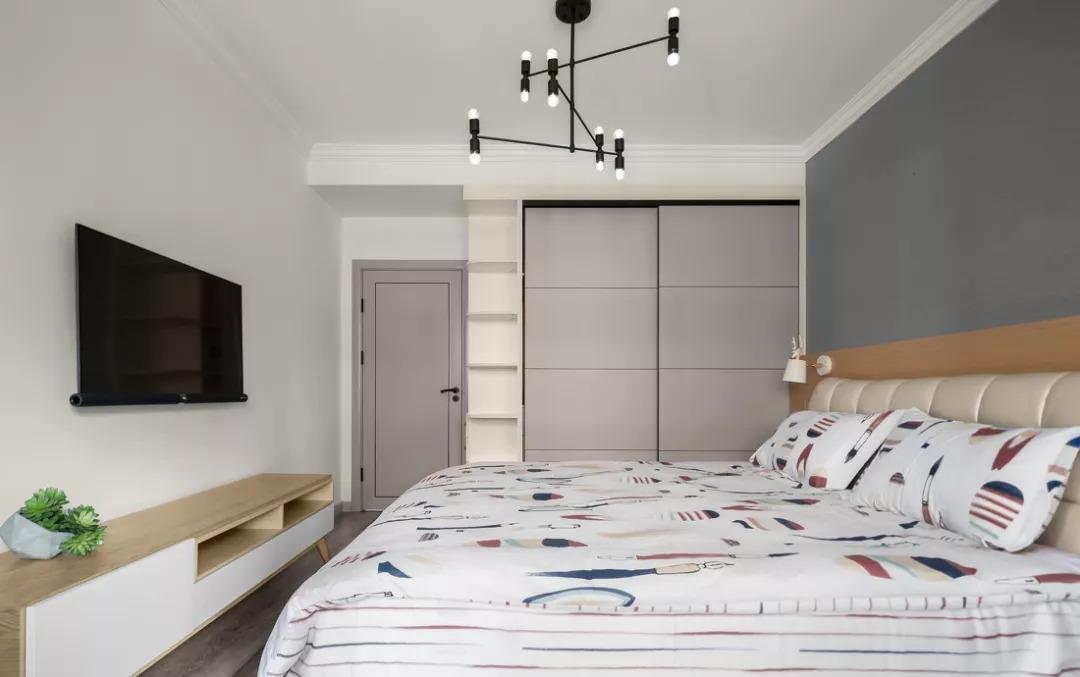 60㎡北欧风格两居室