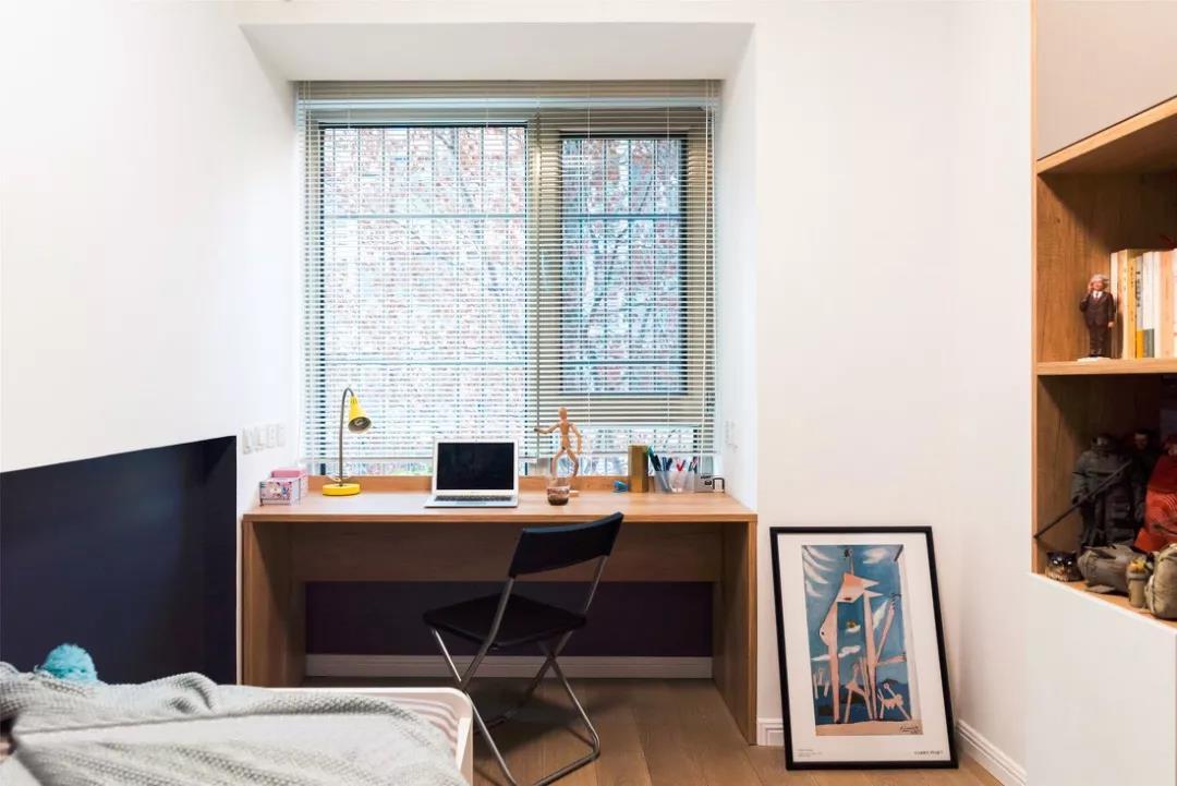 85㎡北欧混日式2室2厅 玻璃隔断让视觉感翻倍
