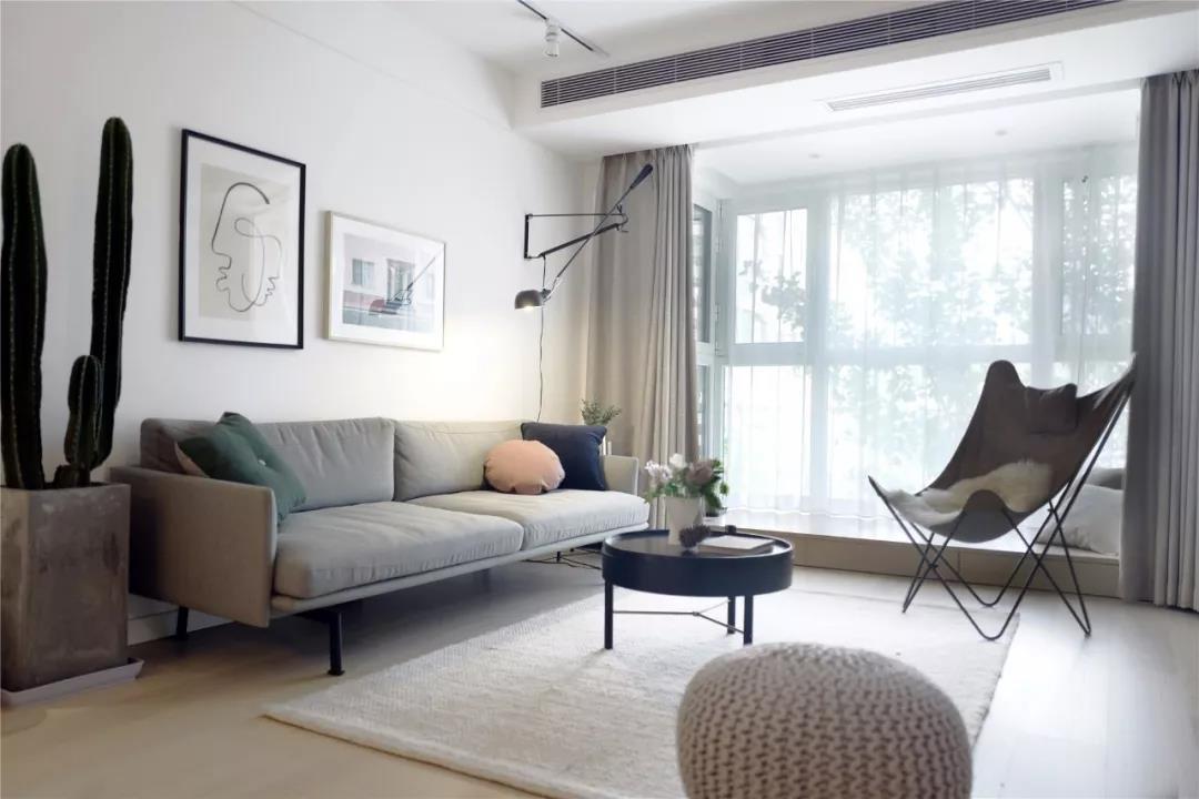 82㎡北欧格调2室2厅 打造文艺优雅的气质感