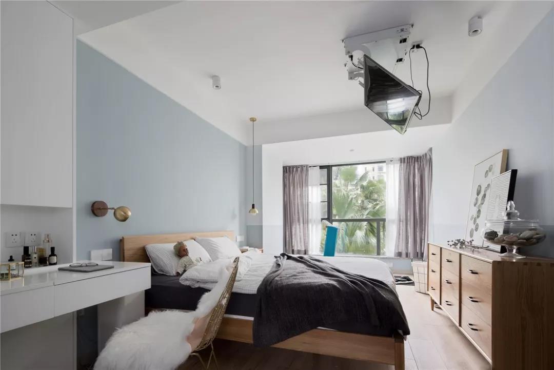 120㎡北欧格调3室2厅,原来榻榻米可以这么漂亮!