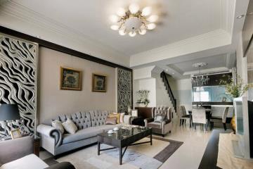 330㎡别墅 新古典的轻质之美