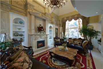 500㎡别墅 一角即一景 享受自在惬意美式生活