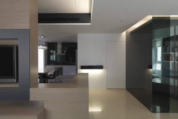 198㎡利落且时尚 简约时尚的LOFT复式住宅