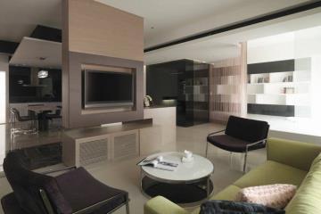 198平创意艺术 简约复式公寓设计