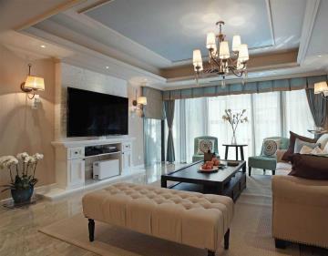 289㎡别墅精致奢华住宅 营造温暖居家氛围