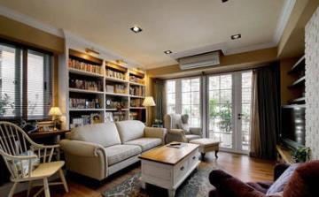 102方自然惬意美式家居装修住宅