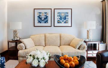 舒适惬意空间 150㎡现代美式三居