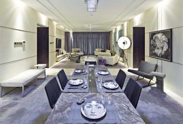 雅致时尚简约现代风格一居室设计欣赏