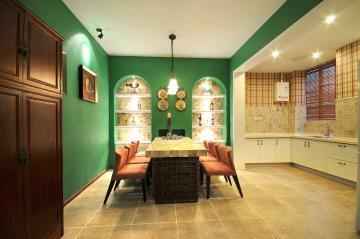 创意混搭复古雅致一居室装潢案例