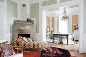清新田园风格80平一居室装修案例