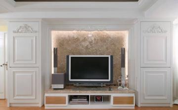 浪漫新古典主义一居室设计欣赏
