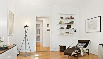 温馨简约一居室设计