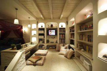 温馨混搭风格小户型单身公寓装潢案例