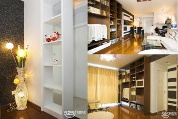55平米现代简约风格样板房