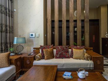 典雅大气 380平中式别墅