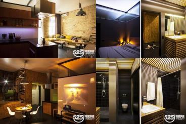 年轻夫妇颇具动感的现代公寓设计