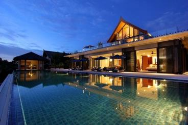 青山绿水 美丽别墅设计效果图
