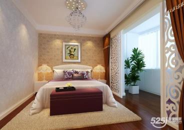 65平米一室二厅现代简约风格设计