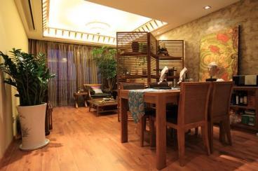 70平米小户型 东南亚风格小空间