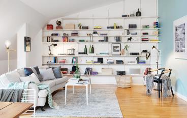 52平怎么装得下书房、画室、浴缸?