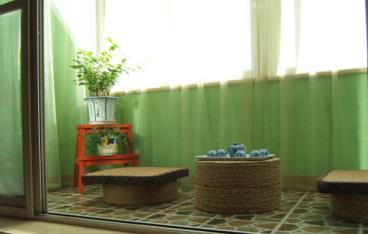 东南亚风情设计效果图 清新舒适