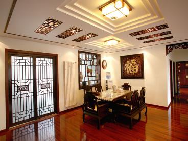 中式古典大气三居室 雍容华贵