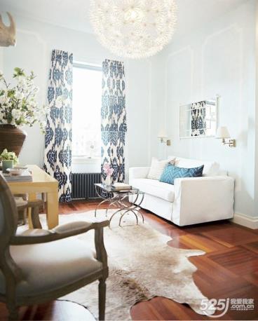 清新秀气的两居室温馨舒适很有爱的感觉