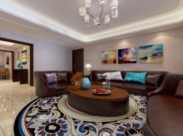 奥林匹克花园-混搭风格-三居室