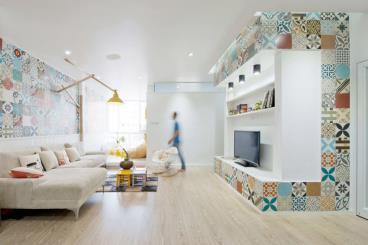 旧公寓翻新改造 变艺术之家