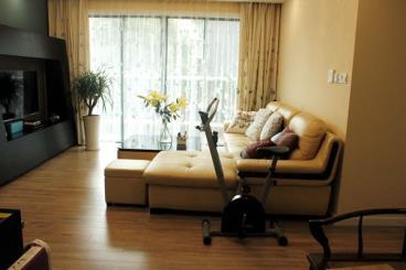 营造自然美138平现代简约风三房两厅