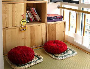 70平米两室一厅装修案例 魅力的绿色小家设计