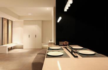 光线、线条、建材 低调打造完美居宅细腻质感