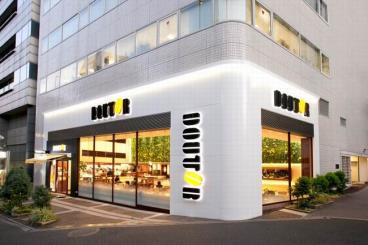 轻松自然气氛 东京时尚餐厅设计