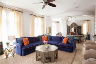 鲜艳色彩 风格迥异摩洛哥民族风住宅