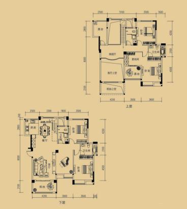 达美溪湖湾-中式风格-四居室