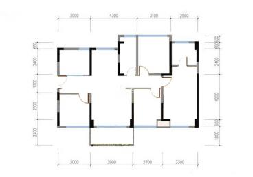 四房两卫新中式装修案例