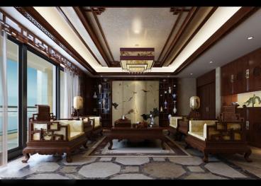 中式风格古典大气