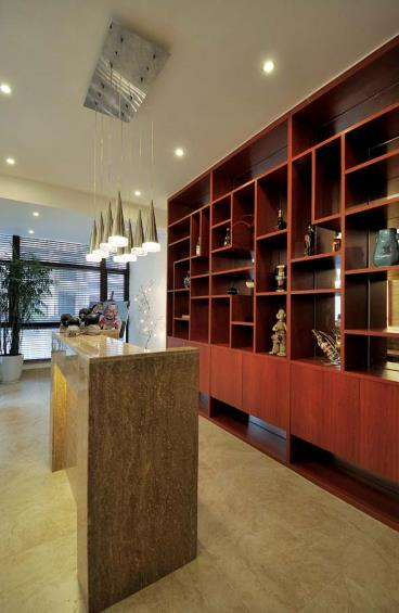 水韵江南-中式风格-四居室-装修案例