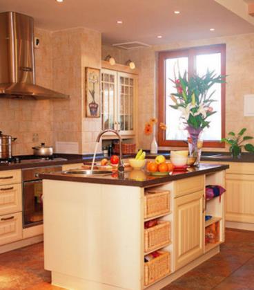 厨房也可以这样 10张厨房装修效果图