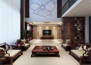 沉迷东方情 简约中式家居住宅设计