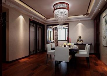 四室两厅中式风格装修效果图