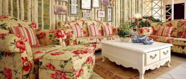 平静却丰富有生命暖家 田园风家居设计