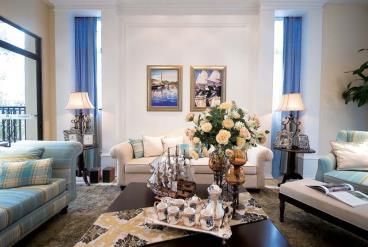 圣巴塞耶-地中海风格-四居室-装修案例